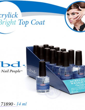IBD ACRYLIC BRIGHT Top Coat Završni sjaj za akril
