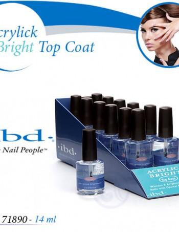 IBD ACRYLIC BRIGHT Top Coat Završni sjaj za akril