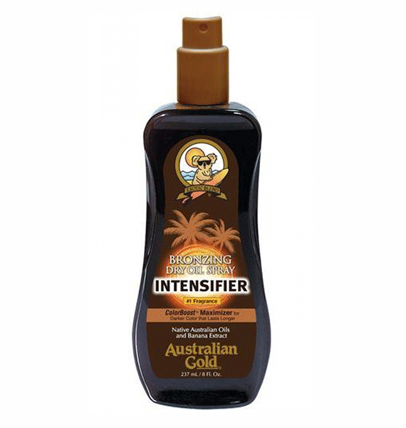 INTENSIFIER Bronzing Dry Oil Spray