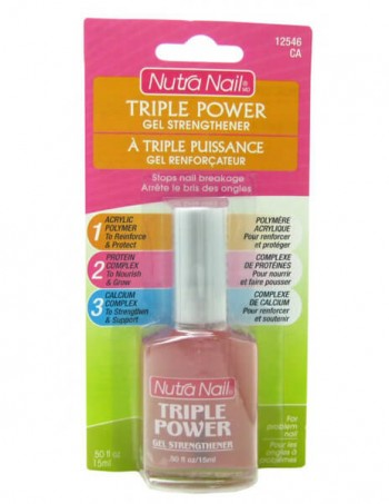 Nutra Nail - Triple Power Lak za jačanje noktnih ploča