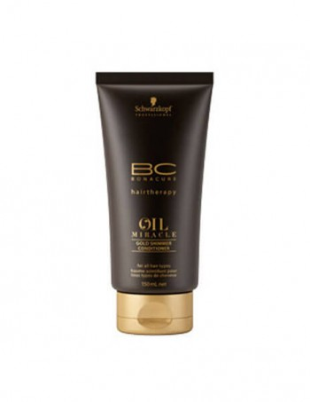 Schwarzkopf OIL MIRACLE gold shimmer conditioner