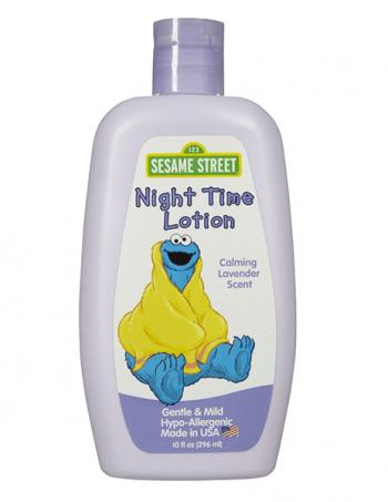 Sesame Street - losion za negu dečje kože sa umirujućim mirisom lavande