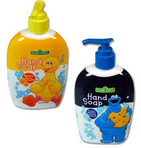 Sesame Street - tečni sapun za decu sa pumpicom
