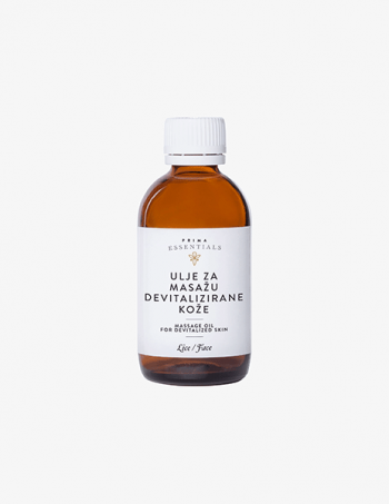 Ulje za masažu lica - devitalizirana koža
