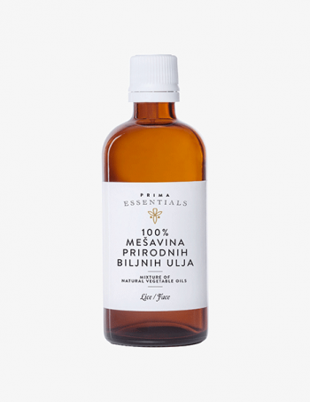 Ulje za masažu lica Mešavina prirodnih ulja 100%
