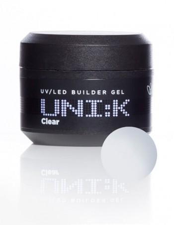 UNI:K UV/LED Builder Gel - CLEAR