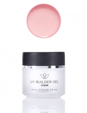 UV Builder Gel - clear (za izlivanje)