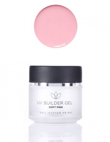 UV builder gel soft pink (za izlivanje)