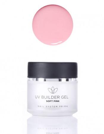 UV builder gel soft pink (za izlivanje)