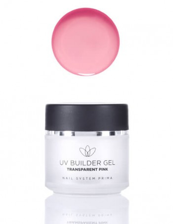 UV Builder Gel - transparent pink (za izlivanje)