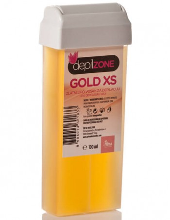 Vosak za depilaciju u patroni GOLD XS