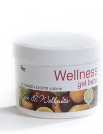 Wellness gel baza (za masažu svežim voćem)