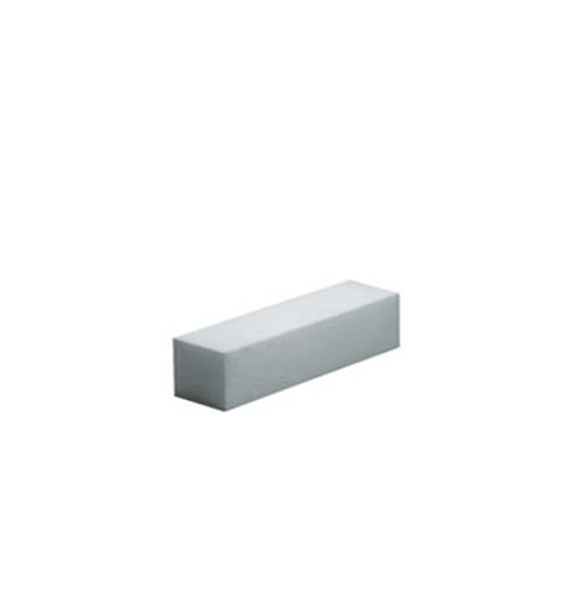 White buffer block - Beli blok za poliranje